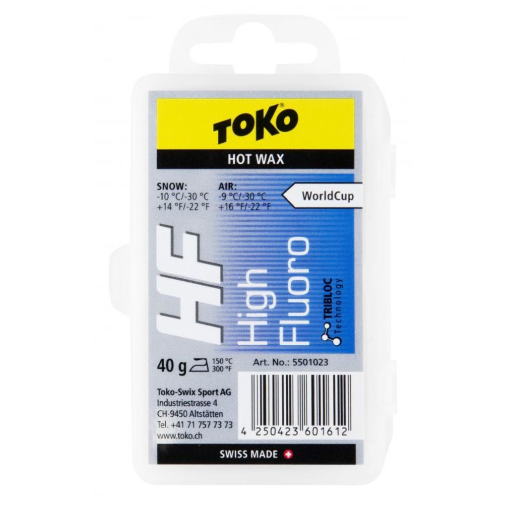 Toko HF Hot Wax Blue