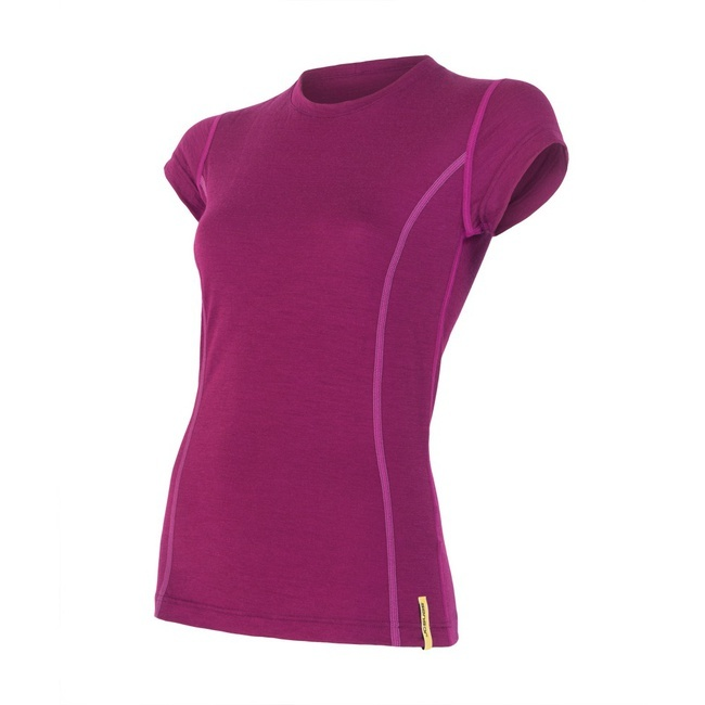 Sensor Merino Wool Active Women's T-shirt Short Sleeves