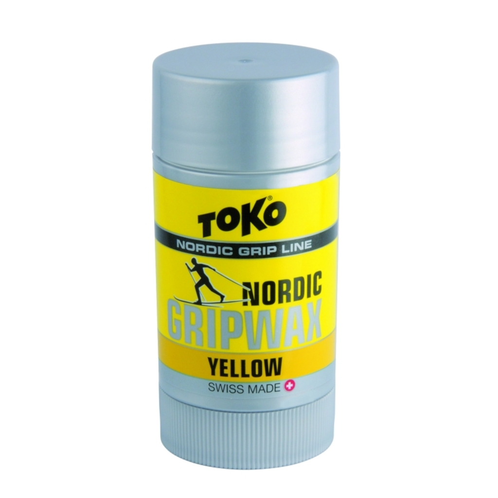 Toko stoupací vosk Nordic Grip Wax 25g, Yellow