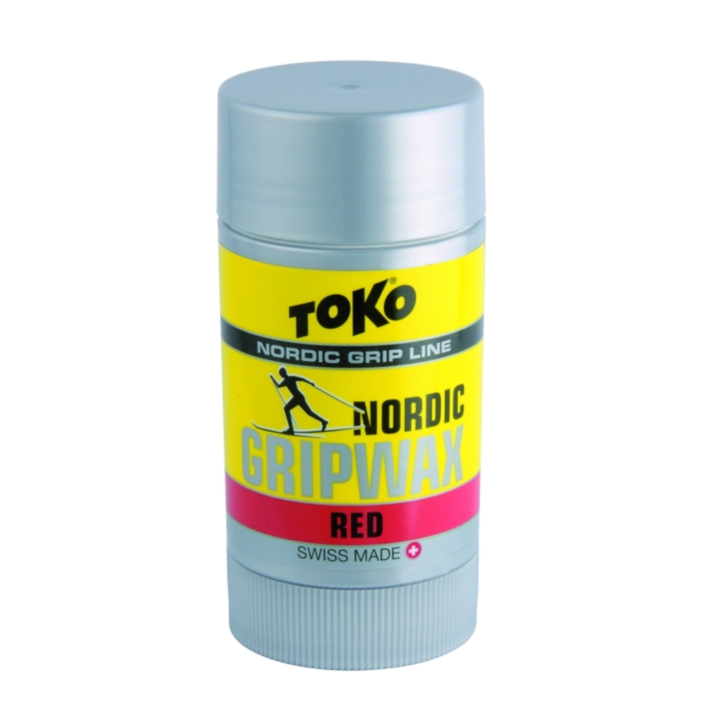 Toko stoupací vosk Nordic Grip Wax 25g, Red