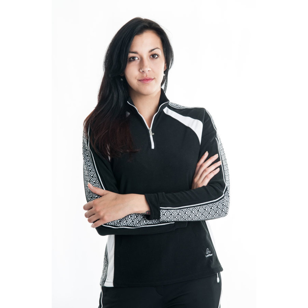 Löffler Fleece Woman Black