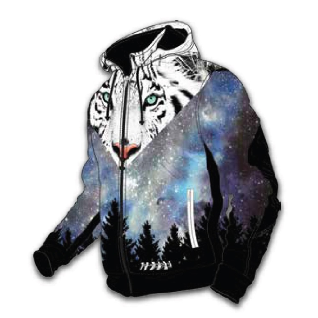 Energiapura Animal Face Light Jacket W/Hood