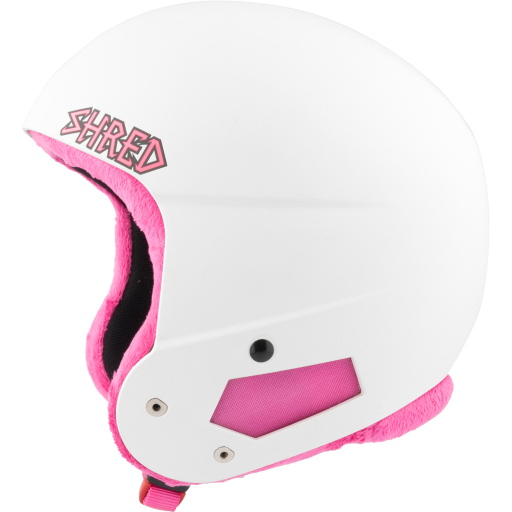 Shred Brain Bucket Mini White Pink
