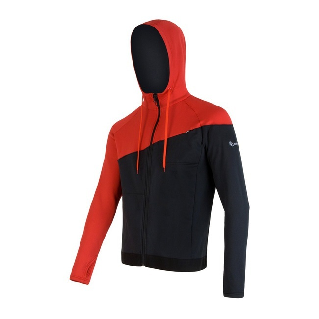 Sensor Tecnostretch Men's Hoodie Zip