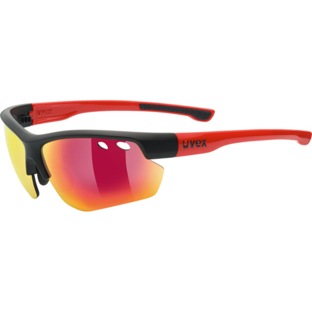 Uvex Sportstyle 115 Black/Mat/Red