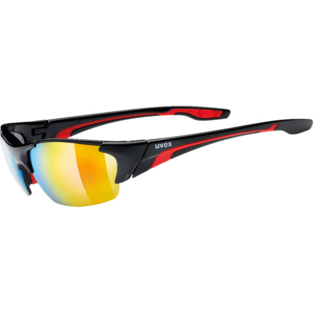 Uvex Blaze III Black/Red