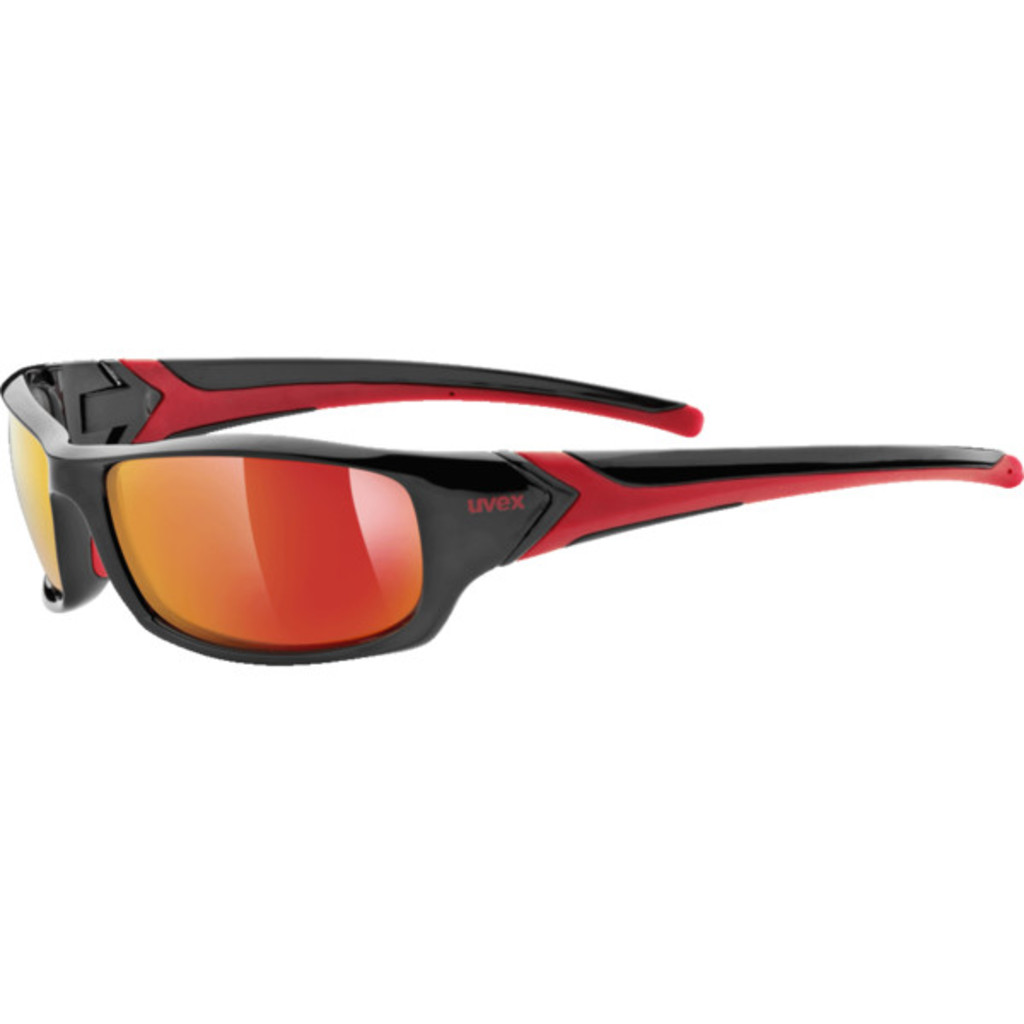Uvex Sportstyle 211 Black/Red
