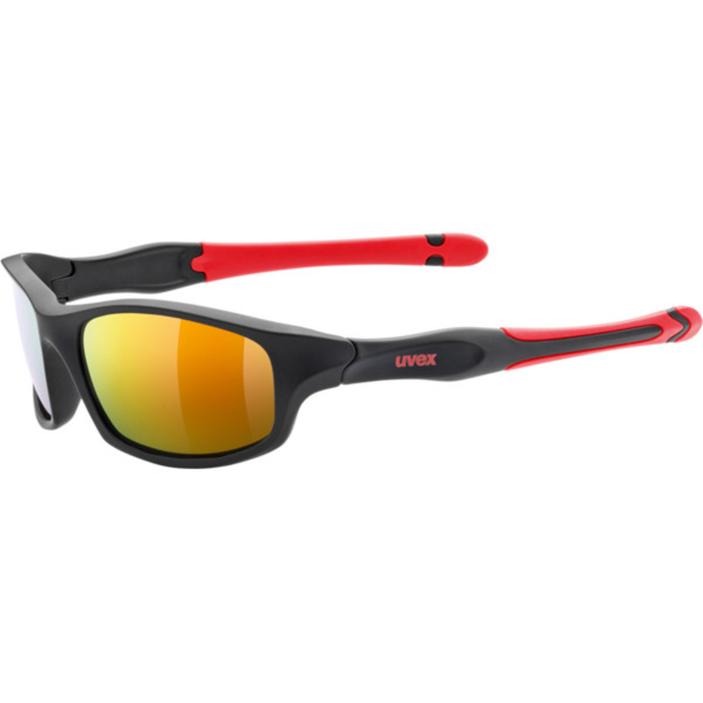 Uvex Sportstyle 507 Black/Mat/Red