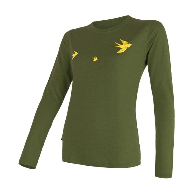 Sensor Merino Active PT SWALLOW Women's T-Shirt Long Sleeves