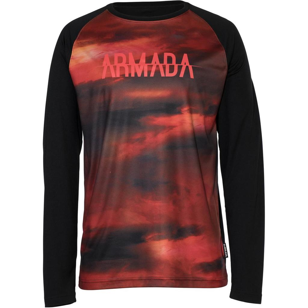 Armada Contra Crew L/S red resin