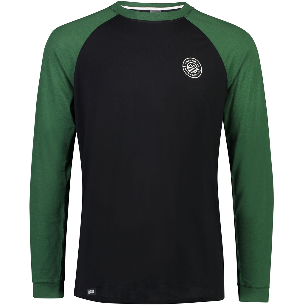 MONS ROYALE Icon Raglan LS