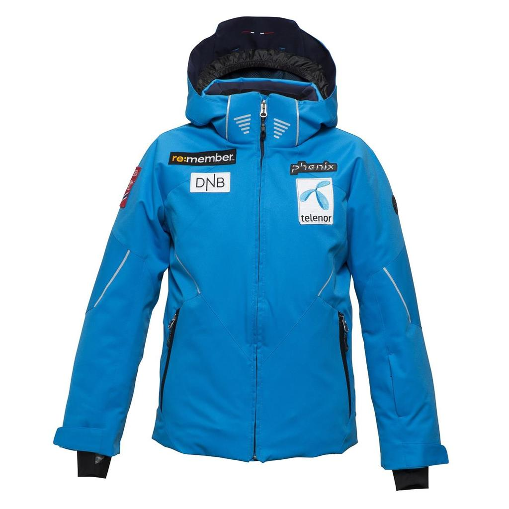 Phenix Norway Alpine Team Jr. Jacket mit Badges