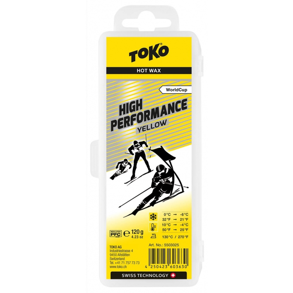 Toko High Performance Hot Wax yellow 120g
