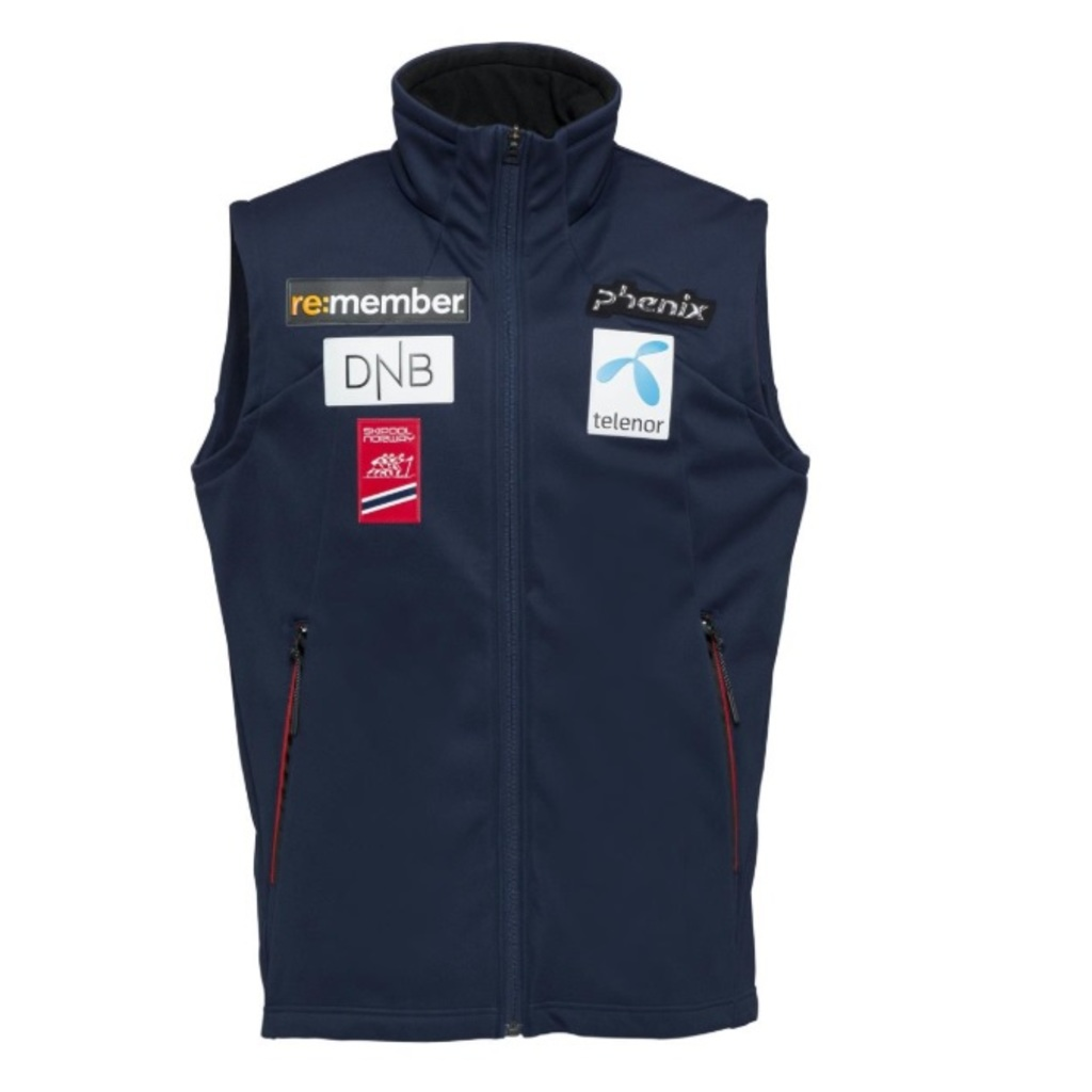 Phenix Norway Alpine Team Vest mit Badges